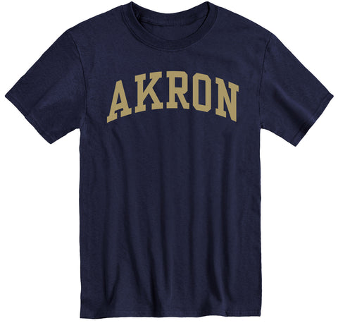University of Akron Classic T-Shirt (Navy)