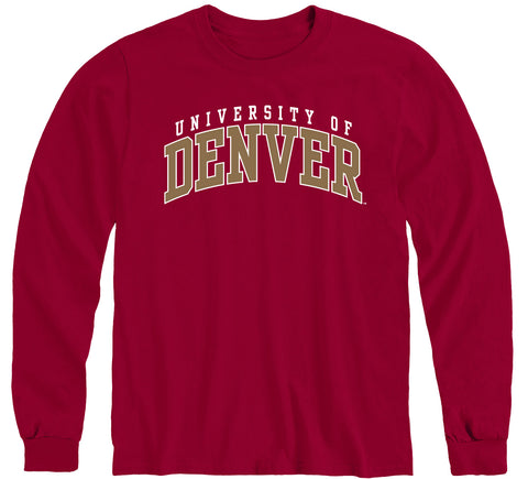 University of Denver Classic Long Sleeve T-Shirt (Cardinal)