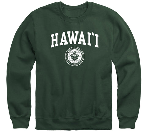 University of Hawaii Heritage Sweatshirt (Hunter Green)