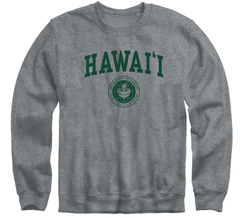 University of Hawaii Heritage Sweatshirt (Charcoal Grey)