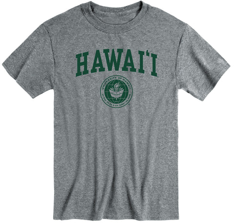 University of Hawaii Heritage T-Shirt (Charcoal Grey)
