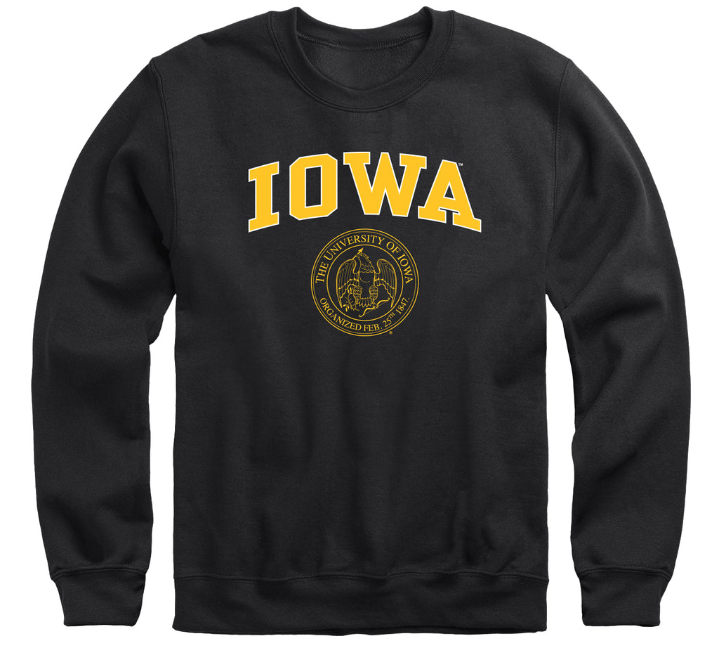 University of Iowa Heritage Sweatshirt (Black)
