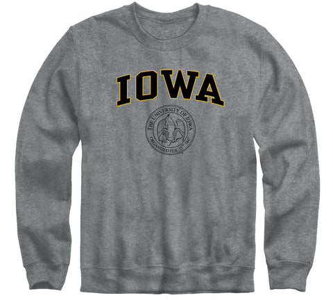 University of Iowa Heritage Sweatshirt (Charcoal Grey)