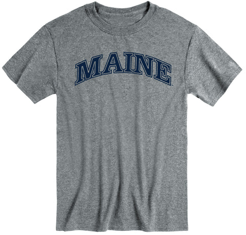 University of Maine Classic T-Shirt (Charcoal Grey)