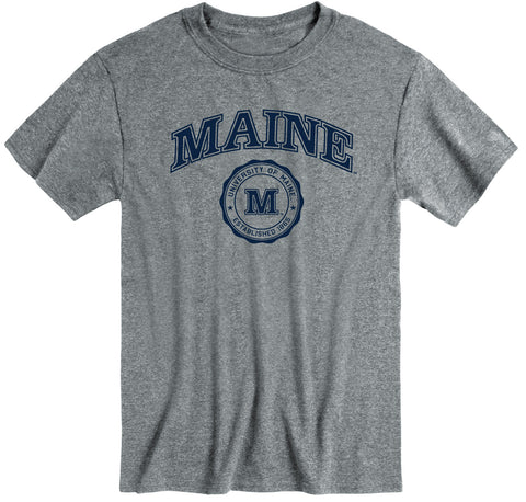 University of Maine Heritage T-Shirt (Charcoal Grey)