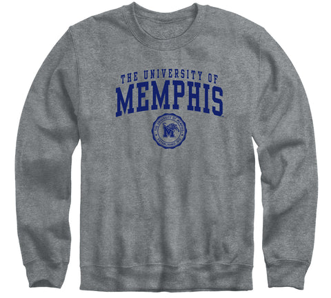 The University of Memphis Heritage Sweatshirt (Charcoal Grey)