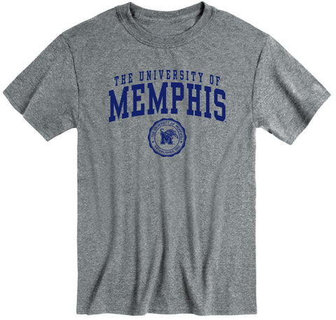 The University of Memphis Heritage T-Shirt (Charcoal Grey)