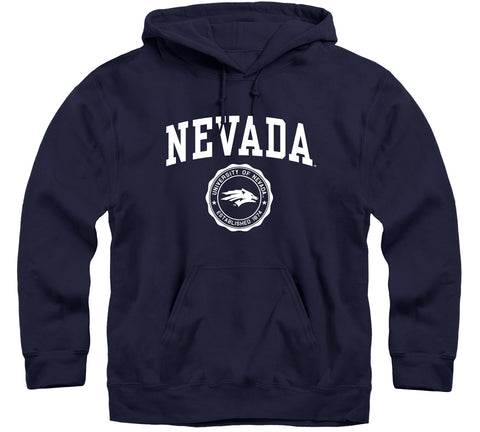 University of Nevada Reno Heritage Hooded Sweatshirt (Navy)