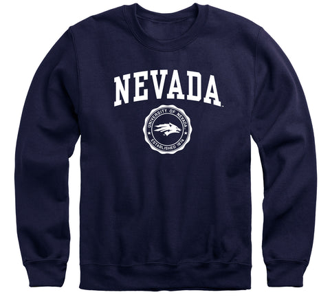 University of Nevada Reno Heritage Sweatshirt (Navy)
