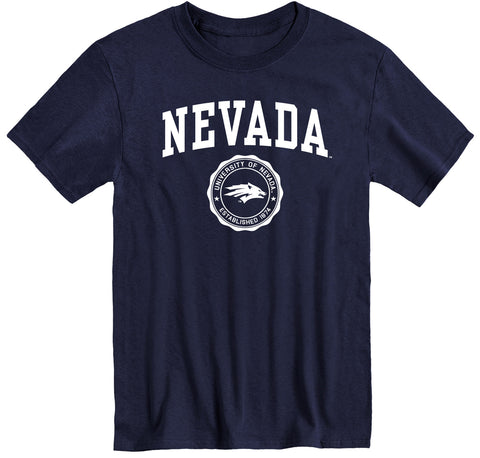 University of Nevada Reno Heritage T-Shirt (Navy)