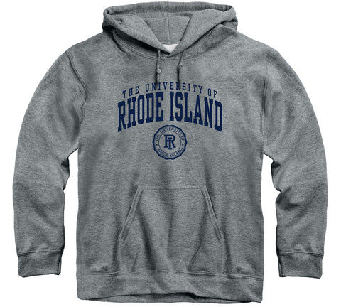 University of Rhode Island Heritage Hooded Sweatshirt (Charcoal Grey)