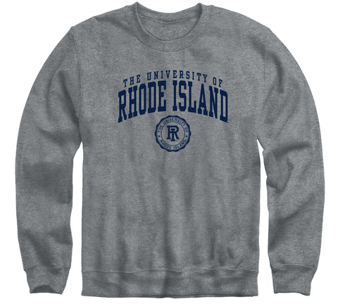 University of Rhode Island Heritage Sweatshirt (Charcoal Grey)
