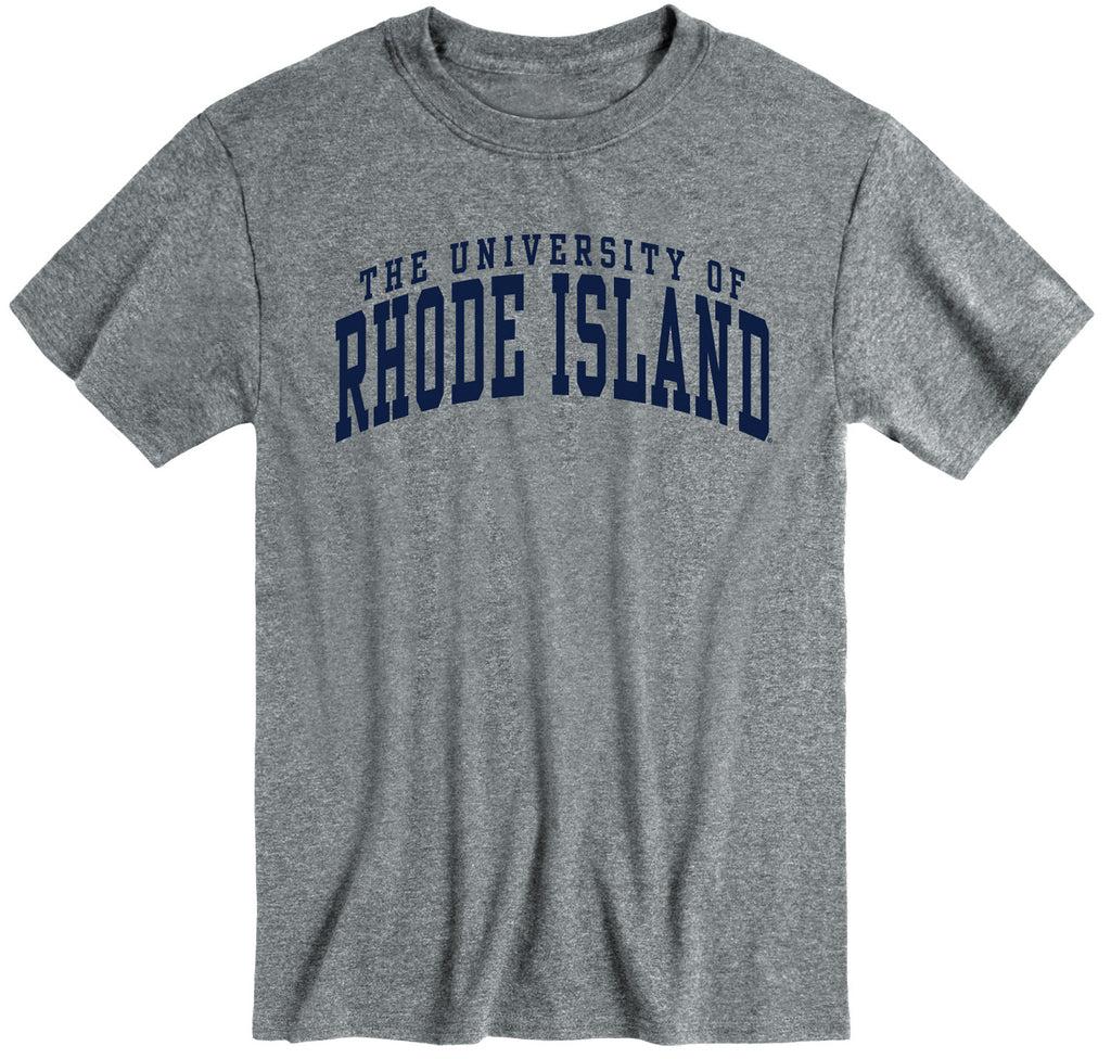 University of Rhode Island Classic T-Shirt (Charcoal Grey)