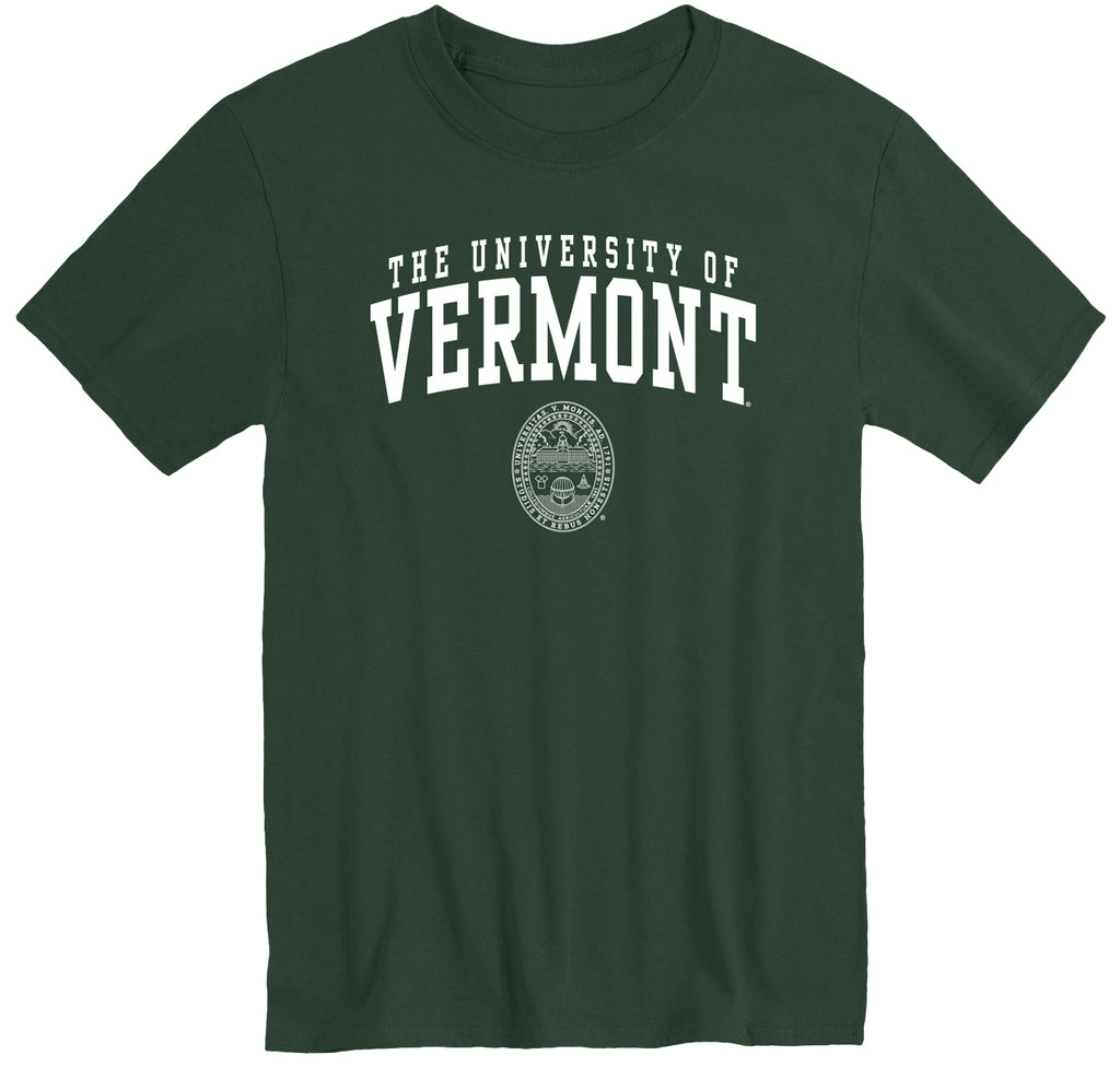 University of Vermont Heritage T-Shirt (Hunter Green)