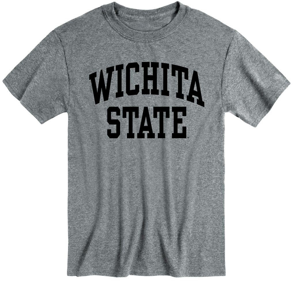 Wichita State University Classic T-Shirt (Charcoal Grey)