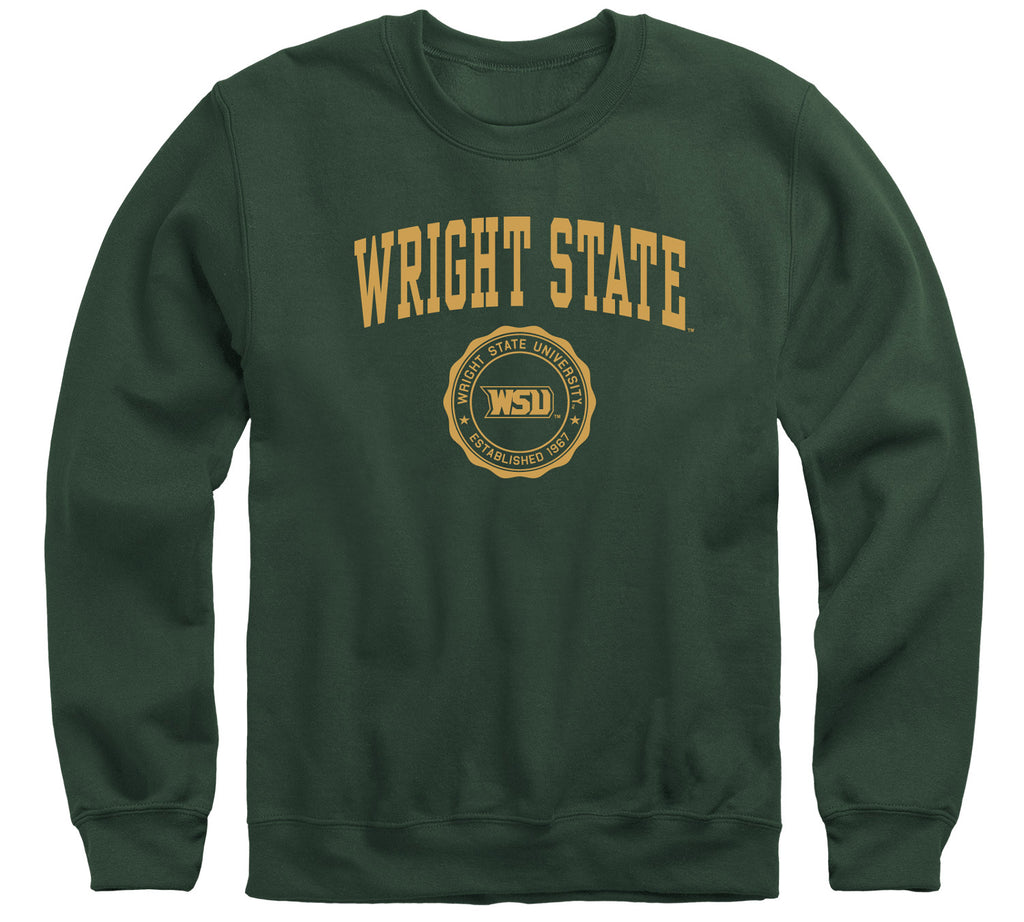 Wright State University Heritage Sweatshirt (Hunter Green)