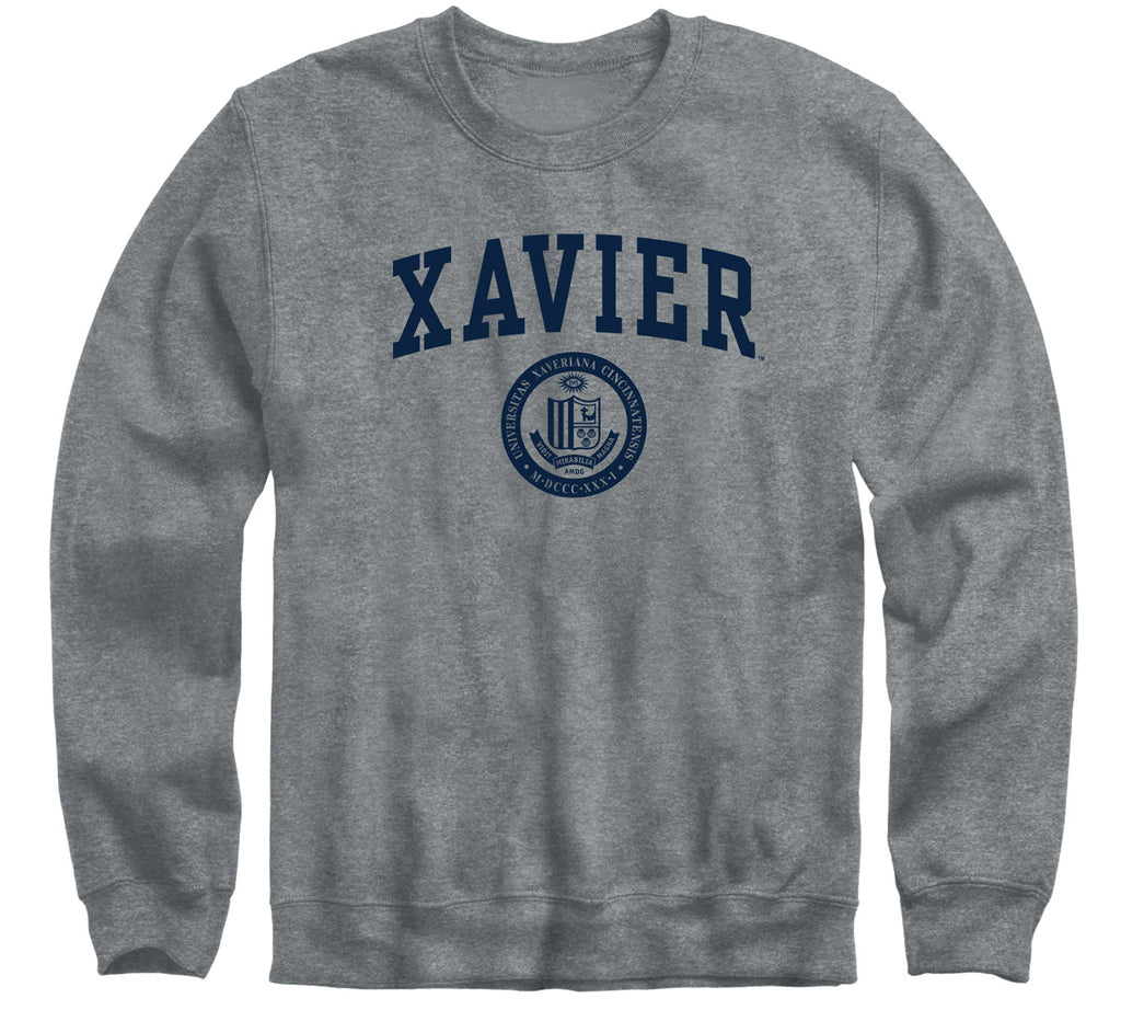 Xavier University Heritage Sweatshirt (Charcoal Grey)