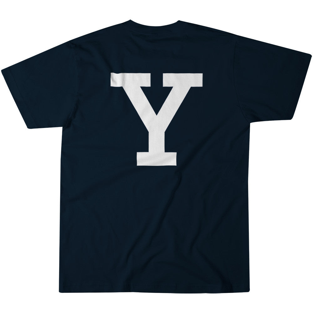Yale - Letter - T-Shirt (Navy)