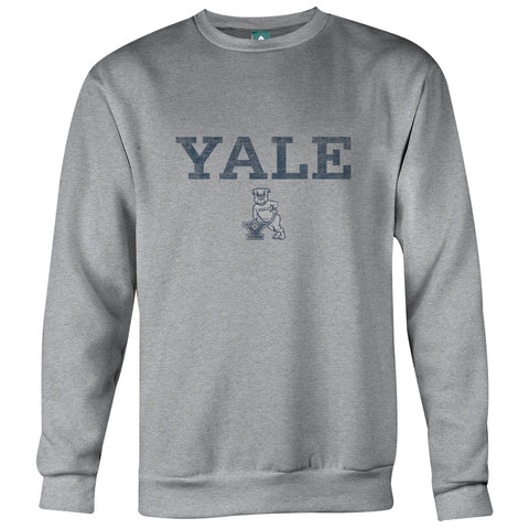 Yale Team Vintage Sweatshirt (Heather Grey)