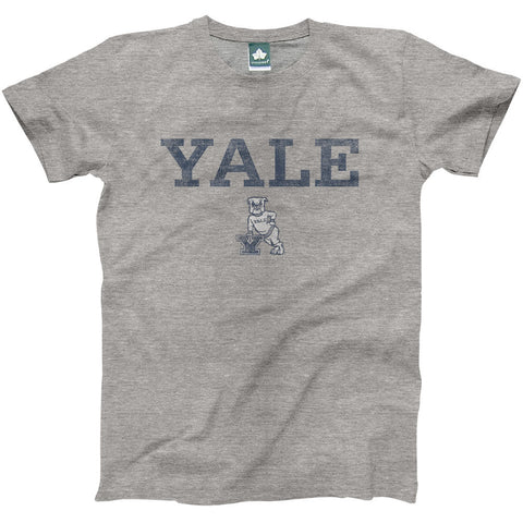 Yale - Team Vintage T-shirt (Heather Grey)