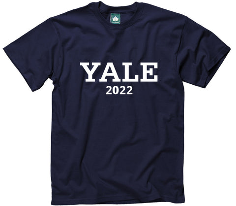 Yale Class of 2022 T-Shirt (Navy)