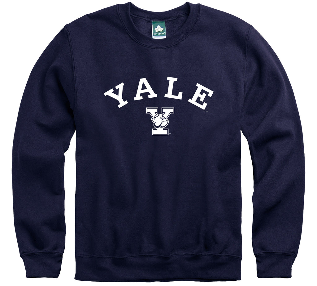 Yale Athletics Logo Sweatshirt (Navy)