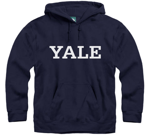 Yale Classic Hooded Sweatshirt (Navy)