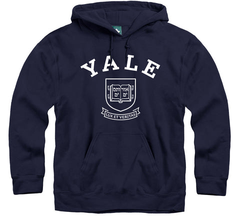 Yale Heritage Hooded Sweatshirt (Navy)