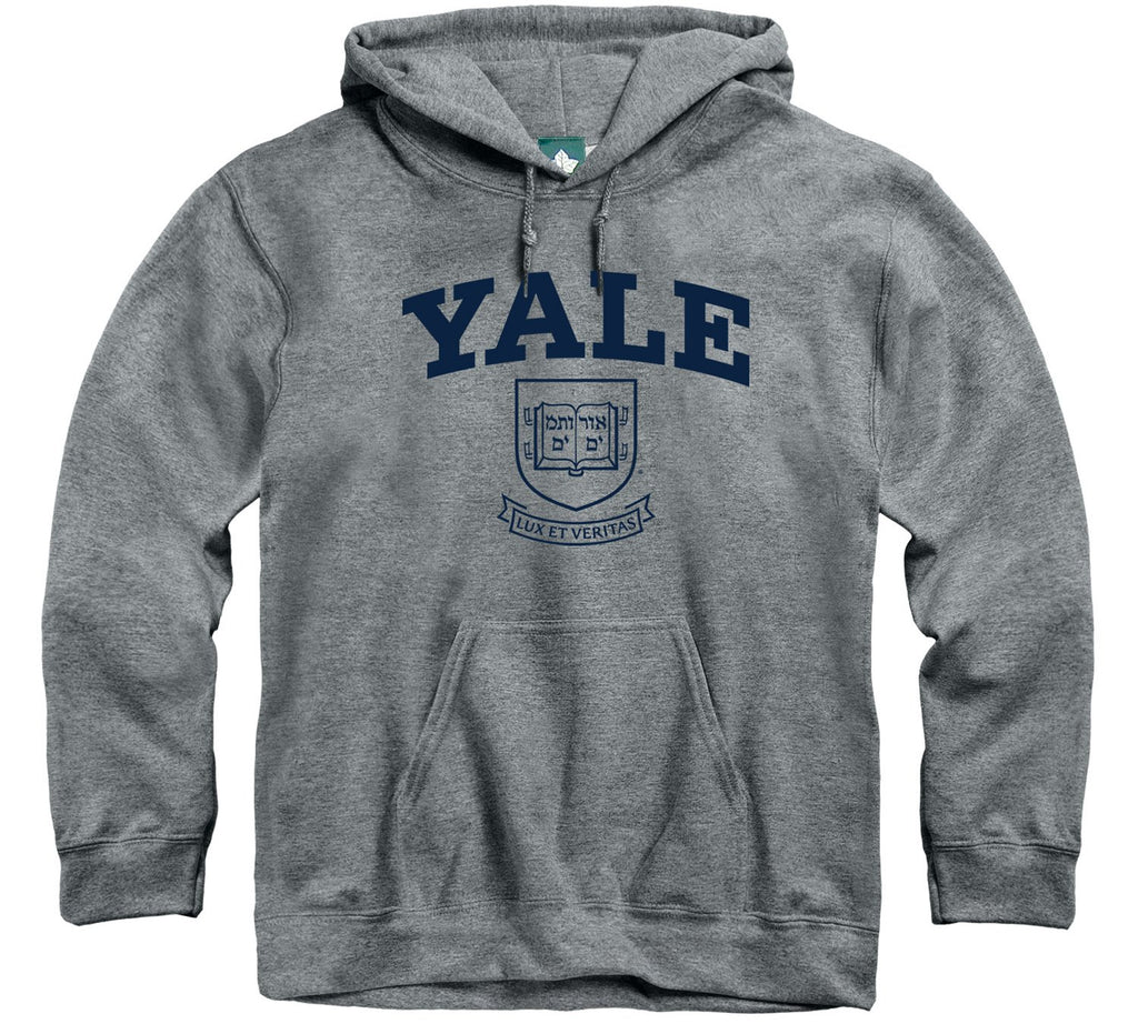 yale university hooded sweatshirt