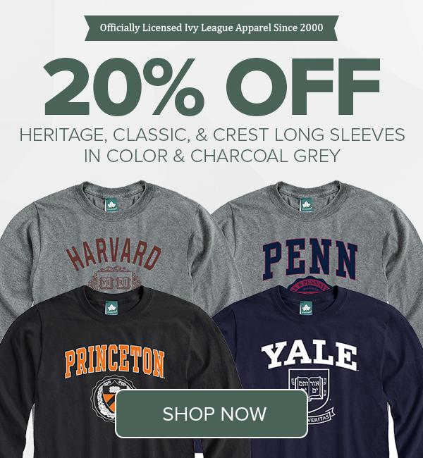 Shop Heritage Ivy League Apparel