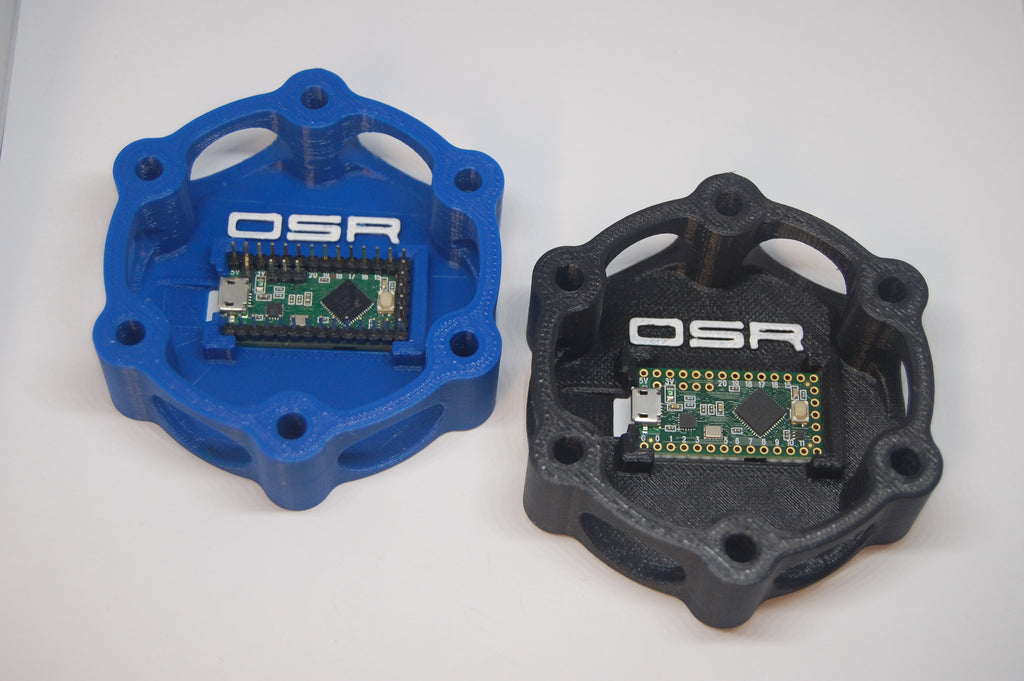 Sim Racing Button Plate Wiring Using OSR Micro Circuit