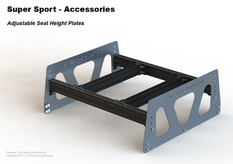 Adjustable Seat Support Plates - 15, 25 & 40 Series