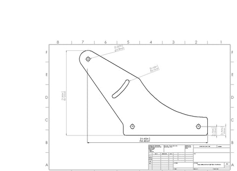 Plans/CNC - Monitor Mounting Plate Set, CNC files