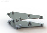 Triple Monitor Stand - Ready To Assembly - 15 or 40 Series