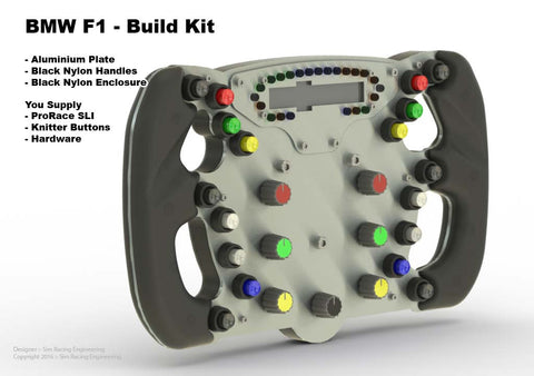 Race Wheel - BMW F1 Style