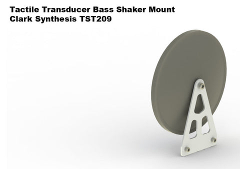 Clark Synthesis TST209 Tactile Transducer Mounting Plate