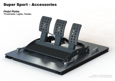 Pedal Mounting Plate - 15, 25, 40 Series
