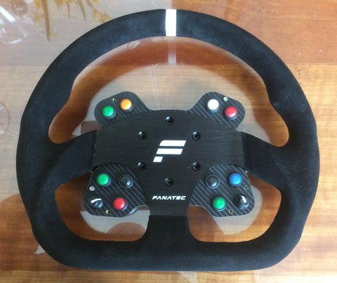 Clearance 4 - Button Plate & Wheel fit Momo Mod 30 or Fanatec GT or similar