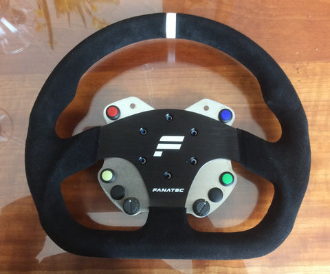 Clearance 3 - Button Plate & Wheel fit Momo Mod 30 or Fanatec GT or similar