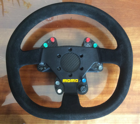Clearance 2 - Button Plate & Wheel fit Momo Mod 30 or Fanatec GT or similar