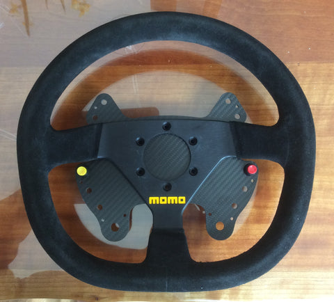 Clearance - Button Plate & Wheel (Porsche style) fit Momo Mod 88 or similar