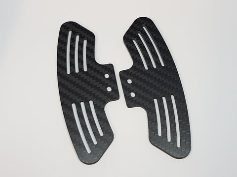 Paddles - GT3 - 3mm Carbon Fiber