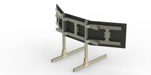 Monitor Stand Heavy Duty - 15 or 30 or 40 series extrusion