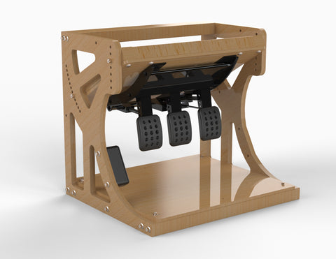 Plans - Inverted pedal box - Wood