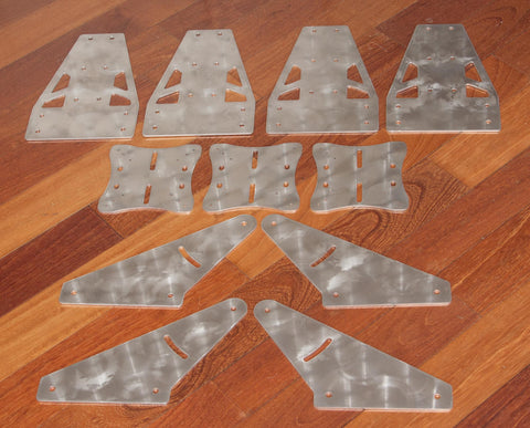 Triple Monitor Stand Plate Kit Amp Plans 15 25 Amp 40
