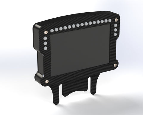 "Sim Display 5"" -Contoured - Mount / Enclosure"
