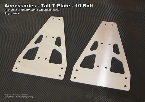 Shifter Vertical Mounting Plates - Set of 2