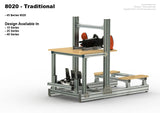 Plans - Traditional 8020 Style - 45 Series Extrusions