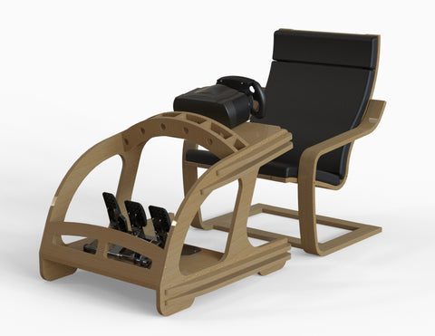 Plans - Wheel & Pedal Mount - Wood