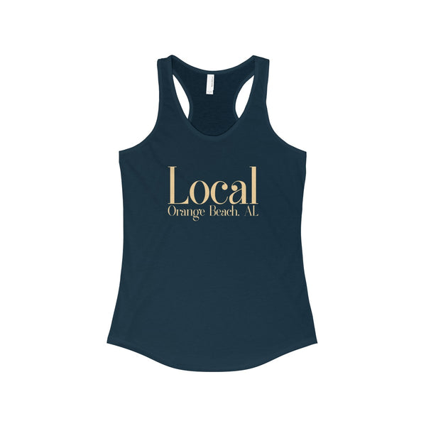 The Local Orange Beach, AL Soft Racerback Tank